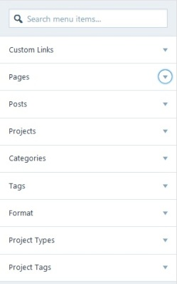 WordPress Menu 03